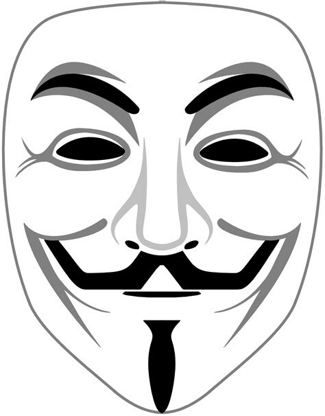 Masker Line i need b w line fawkes mask why we protest anonymous activism forum