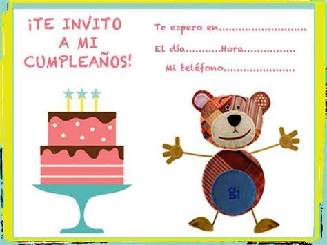 para imprimir de invitacion a fiestas de cumpleanos infantiles view invitaci 243 nes de fiestas para imprimir gratis imagui
