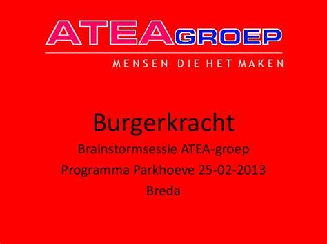 Essay Burgerkracht by Burgerkracht Atea Groep