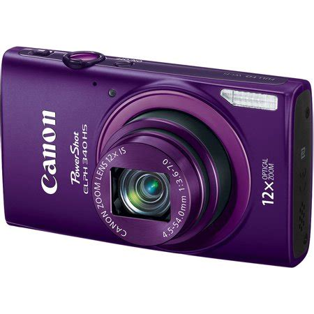 canon powershot elph 340 hs digital camera with 16