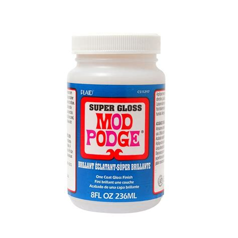 mod podge 8 oz gloss decoupage glue cs11297 the