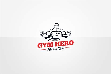 fitness logo templates logo template in logo templates on yellow images