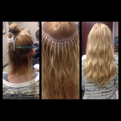 hair extension boutique 18 inch microlink extensions yelp