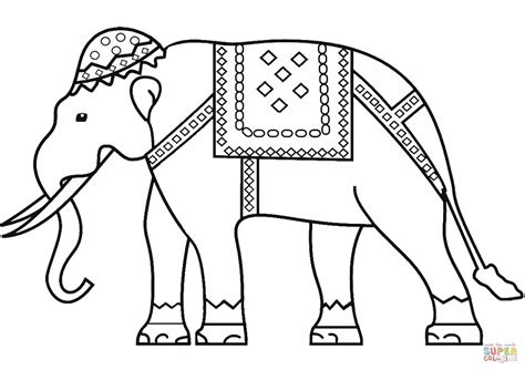 indian elephant coloring page indian elephant coloring page free printable coloring pages