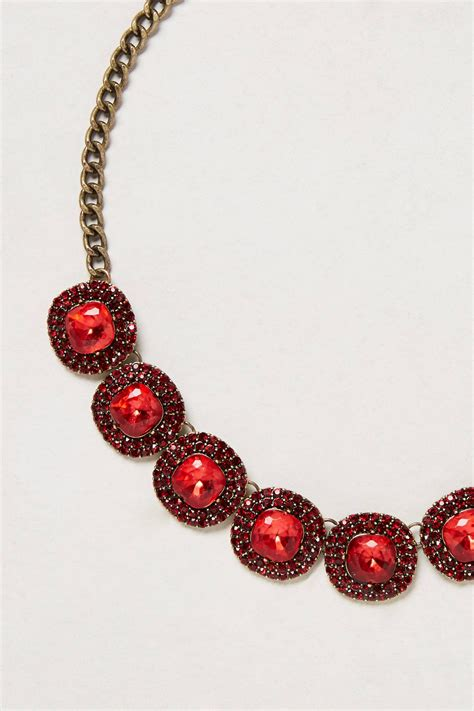 baublebar caviar cabochon necklace in lyst