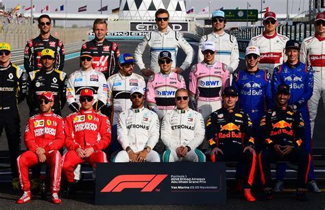 2019 F1 Drivers by Reported Salaries For Each Formula 1 Driver During The