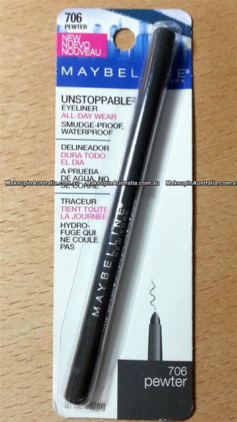 Maybelline New York Unstoppable Eyeliner maybelline unstoppable eyeliner www imgkid the