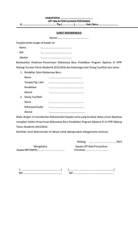 format surat pernyataan sscn contoh surat lamaran calon mahasiswa contoh two