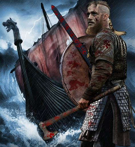 does ragnar get back with his first wife ragnar vikings tv series fan art 38313227 fanpop