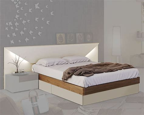 modern style beds two tone storage bed in modern style elena 33141el