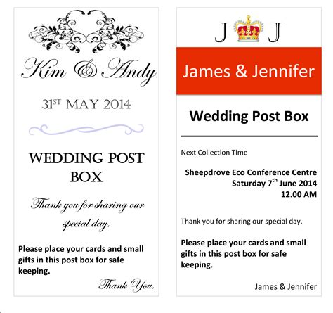 Wedding Post Box Quotes by Post Box Hire For Weddings And Events