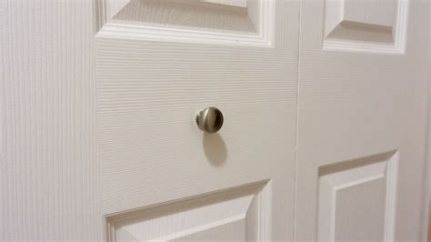 New Where To Put Bifold Closet Door Handles Roselawnlutheran Bifold Closet Door Knobs