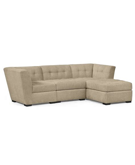 roxanne sofa macys roxanne fabric 3 piece modular sectional sofa corner unit