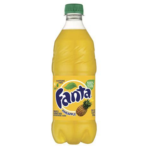 Fanta Pineapple Flavored Soda 20 oz Plastic Bottles   Pack of 24