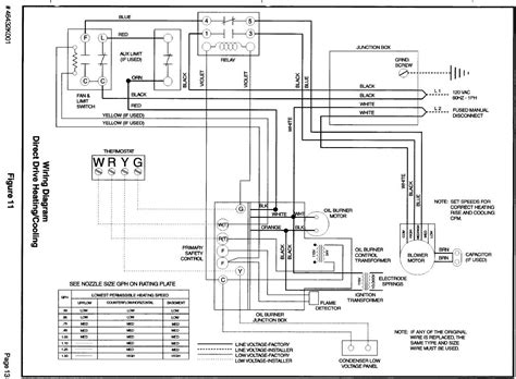 wiring diagram for american standard boiler parts for