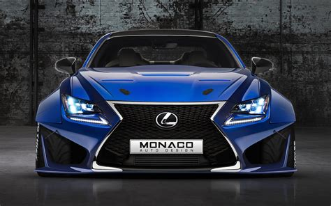 lexus rcf widebody lexus rcf widebody monaco auto design by