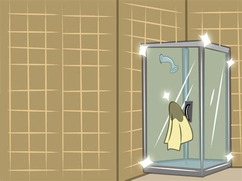 Cleaning Shower Glass Door How To Clean Shower Doors 10 Steps With Pictures Wikihow