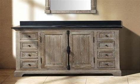 wood bathroom vanities reclaimed wood bathroom vanity