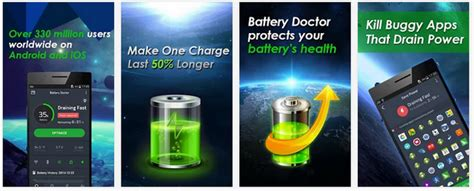 battery doctor for android tablets 5 best battery saver apps for android