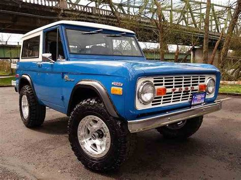 1970 Ford Bronco by Classifieds For 1970 Ford Bronco 6 Available