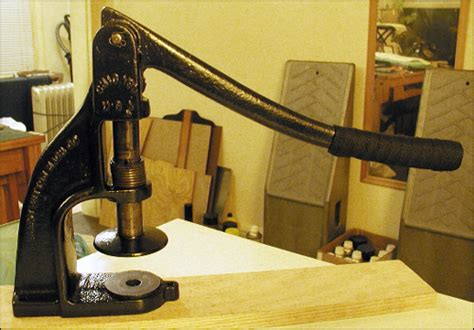 Upholstery Button Maker by 1954 Chevy Upholstery Shop Button Maker
