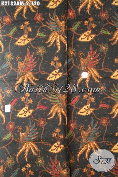 Baju Batik Kombi Burung jual batik elegan proses kombinasi tulis motif bunga dan