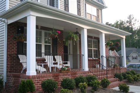porch ideas brick pillars for front porch
