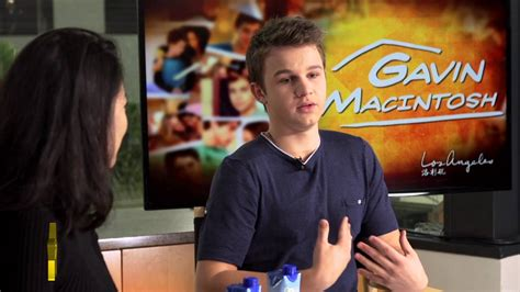 youtube actor model actor model gavin macintosh talks about growing up with