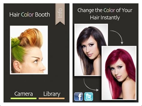 hair color booth 50 excellent iphone apps for photography creative
