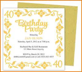 birthday invitation template word authorization letter pdf