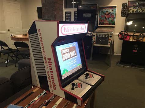 Bar Top Arcade by This Nes Bartop Arcade Is Amazing Global News