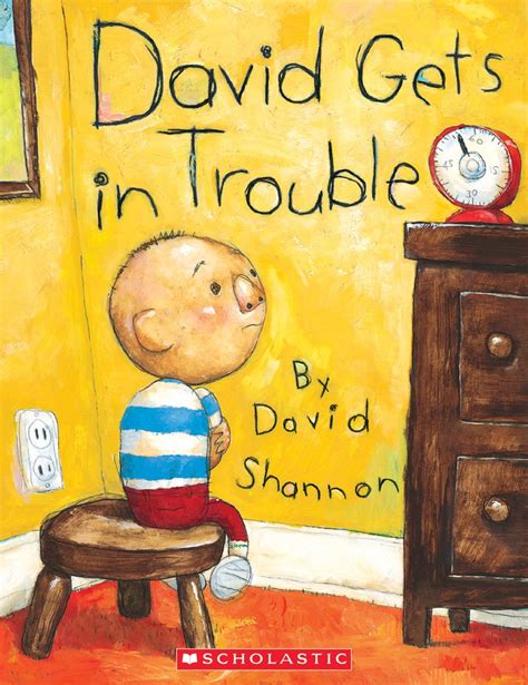 the book with no pictures david gets in trouble by david shannon scholastic