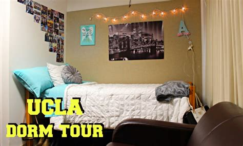 dorms in ucla tour