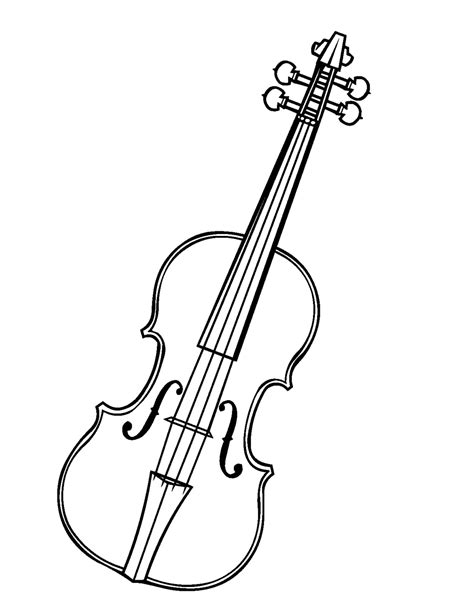 violin template violin outline www imgkid the image kid has it
