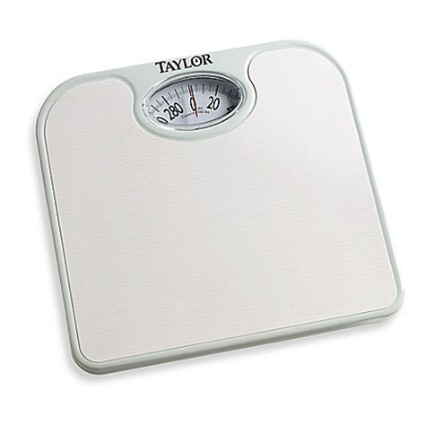 dial bathroom scale buy metro ez read dial bathroom scale in white from bed