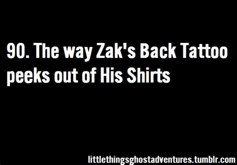zak bagans back tattoo the things about ghost adventures happy someone
