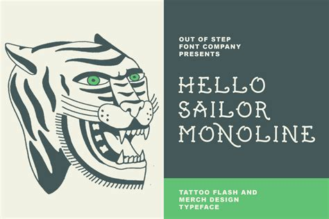 new tattoo lyrics hello sailor top 30 best old school tattoo fonts out of step font company