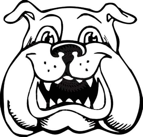 Bulldog Is Laughing Coloring Pages Best Place To Color Bulldog Coloring Pages
