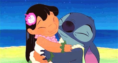 keep calm gif by darkenedsoul12 on deviantart lilo and stitch hug gif find share on giphy
