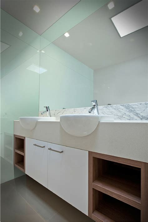 Bathroom Glass Wall Cost Contemporary Glass Products For A Bathroom Countertops