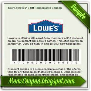 great deals using free printable lowes coupons free