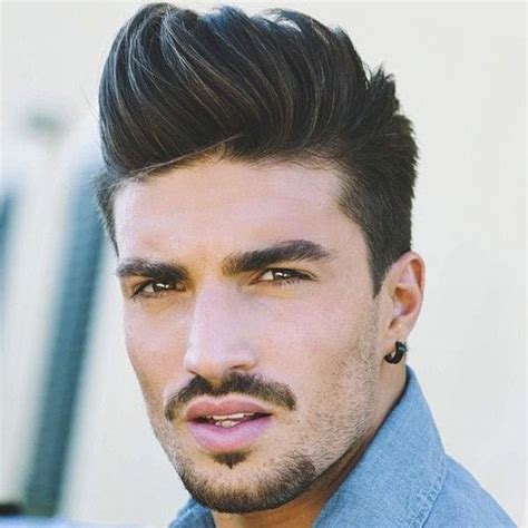 latino mens wetlook pompador hairstyles 1000 ideas about pompadour on pinterest high fade fade