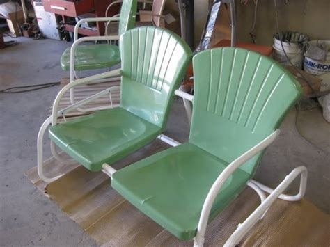 Sandblasting Patio Furniture by Patio Furniture Powdercoated White And Ral 6021 Green Yelp