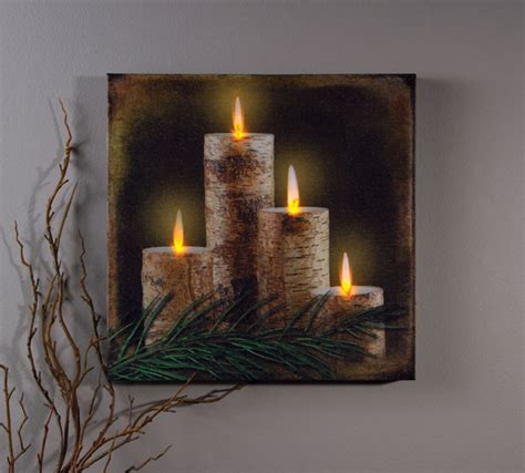lighted christmas canvas wall art image gallery lighted canvas wall art