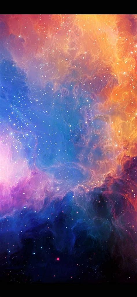 abstract outer space stars nebulae