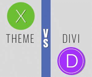wordpress theme x vs x theme vs divi pros and cons athemes