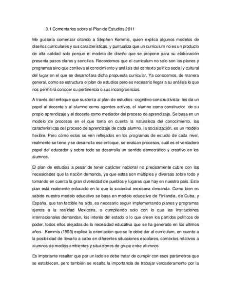 Modelo Curricular De Stephen Kemmis Una Perspectiva Sobre El Plan De Estudios De La Educacion Basica 2011