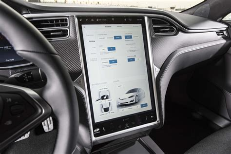 tesla inside engine tesla drivers can now draw on the center touchscreen