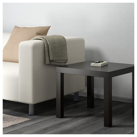 Lack Coffee Table Black Brown Lack Side Table Black Brown 55x55 Cm Ikea