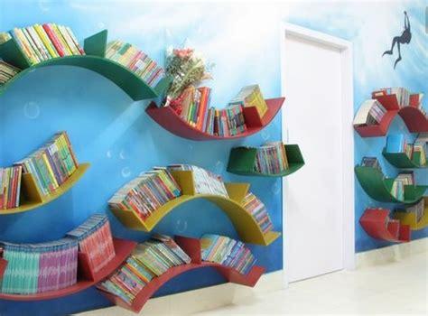 Rak Buku Tidak Terlihat ayo buat anak gemar membaca di rumah rumah dan gaya